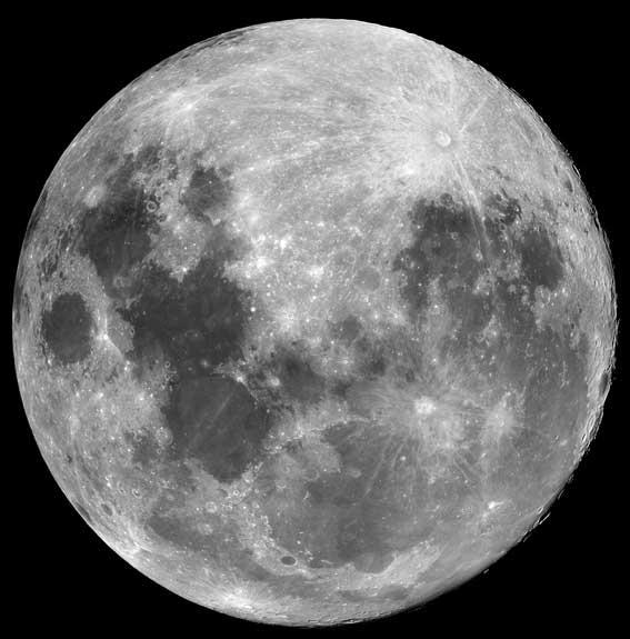 Наблюдения Луны